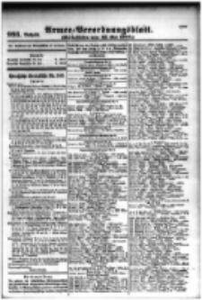 Armee-Verordnungsblatt. Verlustlisten 1916.05.26 Ausgabe 993
