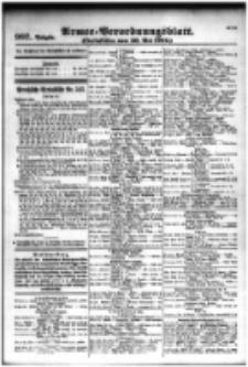 Armee-Verordnungsblatt. Verlustlisten 1916.05.30 Ausgabe 997