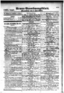 Armee-Verordnungsblatt. Verlustlisten 1916.06.05 Ausgabe 1001