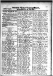 Armee-Verordnungsblatt. Verlustlisten 1916.06.06 Ausgabe 1003