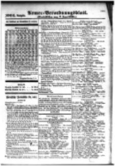 Armee-Verordnungsblatt. Verlustlisten 1916.06.07 Ausgabe 1004