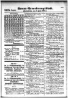 Armee-Verordnungsblatt. Verlustlisten 1916.06.08 Ausgabe 1005