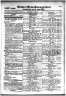 Armee-Verordnungsblatt. Verlustlisten 1916.06.09 Ausgabe 1007