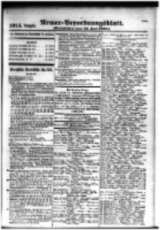 Armee-Verordnungsblatt. Verlustlisten 1916.06.16 Ausgabe 1014