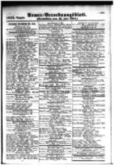 Armee-Verordnungsblatt. Verlustlisten 1916.06.16 Ausgabe 1015