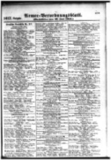 Armee-Verordnungsblatt. Verlustlisten 1916.06.17 Ausgabe 1017