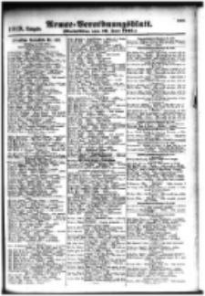 Armee-Verordnungsblatt. Verlustlisten 1916.06.19 Ausgabe 1019