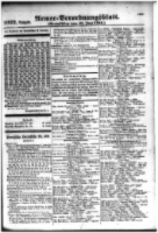 Armee-Verordnungsblatt. Verlustlisten 1916.06.21 Ausgabe 1022