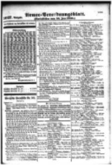 Armee-Verordnungsblatt. Verlustlisten 1916.06.26 Ausgabe 1027