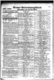 Armee-Verordnungsblatt. Verlustlisten 1916.06.29 Ausgabe 1031