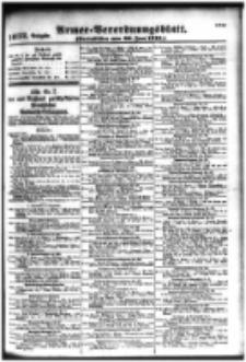 Armee-Verordnungsblatt. Verlustlisten 1916.06.30 Ausgabe 1032