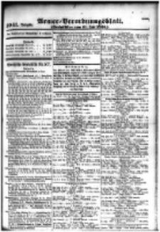 Armee-Verordnungsblatt. Verlustlisten 1916.07.11 Ausgabe 1041