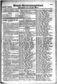 Armee-Verordnungsblatt. Verlustlisten 1916.07.14 Ausgabe 1045