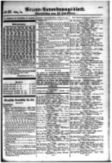 Armee-Verordnungsblatt. Verlustlisten 1916.07.15 Ausgabe 1047