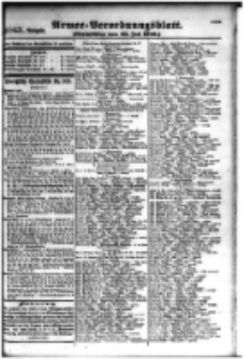 Armee-Verordnungsblatt. Verlustlisten 1916.07.25 Ausgabe 1063