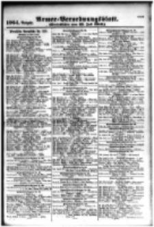 Armee-Verordnungsblatt. Verlustlisten 1916.07.25 Ausgabe 1064