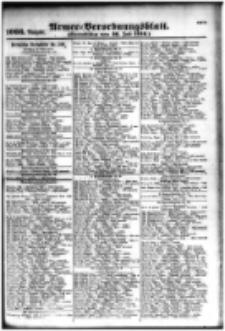 Armee-Verordnungsblatt. Verlustlisten 1916.07.26 Ausgabe 1066