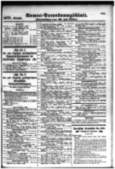 Armee-Verordnungsblatt. Verlustlisten 1916.07.29 Ausgabe 1071