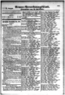 Armee-Verordnungsblatt. Verlustlisten 1916.07.31 Ausgabe 1073