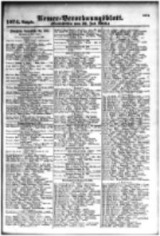 Armee-Verordnungsblatt. Verlustlisten 1916.07.31 Ausgabe 1074