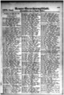 Armee-Verordnungsblatt. Verlustlisten 1916.08.01 Ausgabe 1076