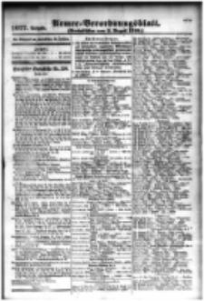 Armee-Verordnungsblatt. Verlustlisten 1916.08.02 Ausgabe 1077