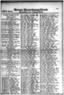Armee-Verordnungsblatt. Verlustlisten 1916.08.02 Ausgabe 1078