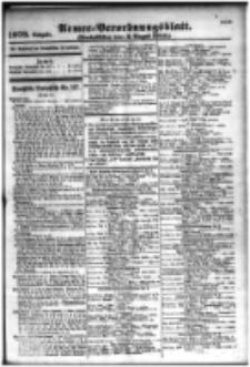 Armee-Verordnungsblatt. Verlustlisten 1916.08.03 Ausgabe 1079