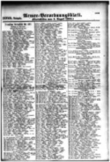 Armee-Verordnungsblatt. Verlustlisten 1916.08.03 Ausgabe 1080