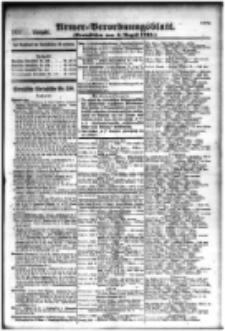 Armee-Verordnungsblatt. Verlustlisten 1916.08.04 Ausgabe 1081