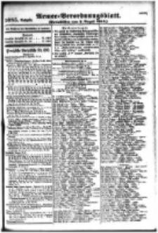 Armee-Verordnungsblatt. Verlustlisten 1916.08.07 Ausgabe 1085