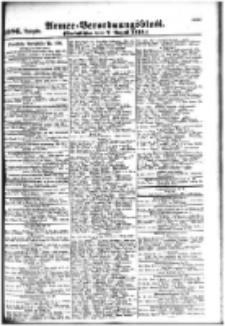 Armee-Verordnungsblatt. Verlustlisten 1916.08.07 Ausgabe 1086