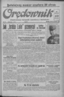 Orędownik: ilustrowany dziennik narodowy i katolicki 1938.01.23 R.68 Nr19