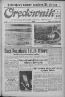 Orędownik: ilustrowany dziennik narodowy i katolicki 1938.02.13 R.68 Nr36