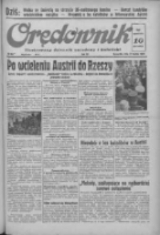 Orędownik: ilustrowany dziennik narodowy i katolicki 1938.03.17 R.68 Nr63