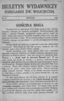 Biuletyn Wydawniczy Księgarni św. Wojciecha 1928 kwiecień Nr10