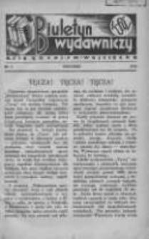 Biuletyn Wydawniczy Księgarni św. Wojciecha 1932 grudzień Nr9