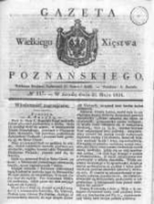 Gazeta Wielkiego Xięstwa Poznańskiego 1831.05.25 Nr117