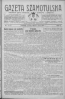 Gazeta Szamotulska: niezależne pismo narodowe, społeczne i polityczne 1927.03.17 R.6 Nr32