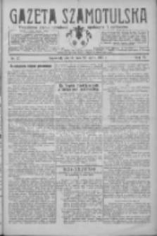 Gazeta Szamotulska: niezależne pismo narodowe, społeczne i polityczne 1927.03.29 R.6 Nr37