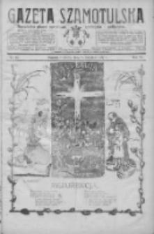 Gazeta Szamotulska: niezależne pismo narodowe, społeczne i polityczne 1927.04.16 R.6 Nr45