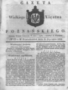 Gazeta Wielkiego Xięstwa Poznańskiego 1838.01.15 Nr12