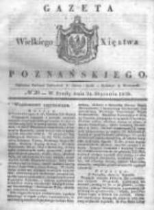 Gazeta Wielkiego Xięstwa Poznańskiego 1838.01.24 Nr20
