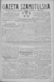 Gazeta Szamotulska: niezależne pismo narodowe, społeczne i polityczne 1927.06.16 R.6 Nr69
