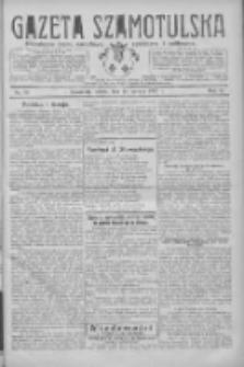 Gazeta Szamotulska: niezależne pismo narodowe, społeczne i polityczne 1927.06.18 R.6 Nr70