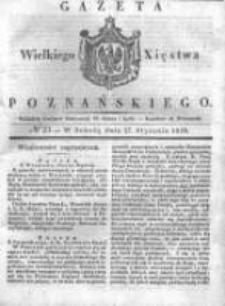 Gazeta Wielkiego Xięstwa Poznańskiego 1838.01.27 Nr23