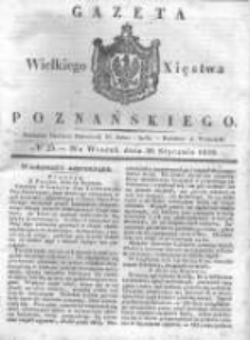 Gazeta Wielkiego Xięstwa Poznańskiego 1838.01.30 Nr25