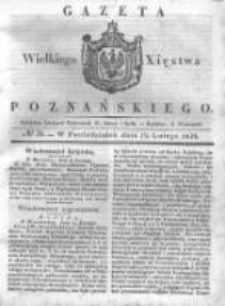 Gazeta Wielkiego Xięstwa Poznańskiego 1838.02.12 Nr36