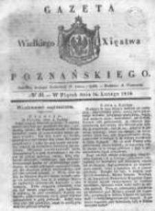 Gazeta Wielkiego Xięstwa Poznańskiego 1838.02.16 Nr40