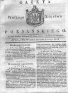 Gazeta Wielkiego Xięstwa Poznańskiego 1838.02.20 Nr43